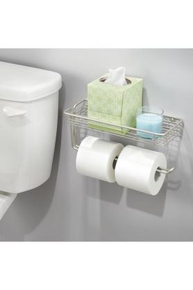 Classico Paper Towel Holder with Shelf - Wall Mount