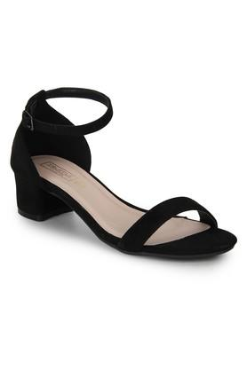cce833e88de X TRUFFLE COLLECTION Womens Casual Wear Buckle Closure Heeled Sandals