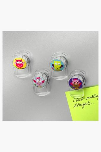 Printed Magnetic Clips Set of 4