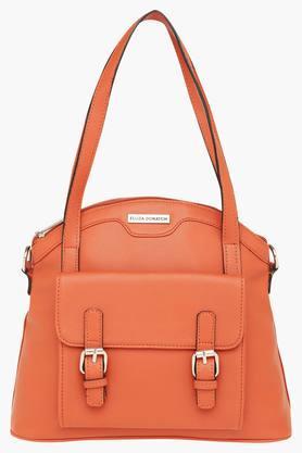 ELLIZA DONATEINWomens Zipper Closure Satchel Handbag - 203397156