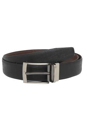 VETTORIO FRATINI Mens Leather Buckle Closure Formal Belt