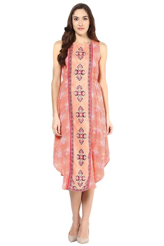 Womens Printed Dress