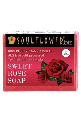 SOULFLOWERSweet Rose Handmade Soap