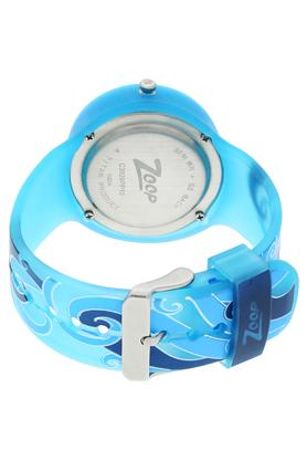Girls Blue Dial Plastic Watch - NKC3029PP10