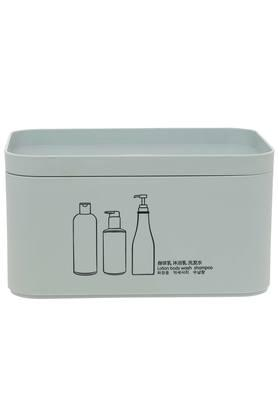 Rectangular Printed Cosmetic Organiser with Lid - 4.5L