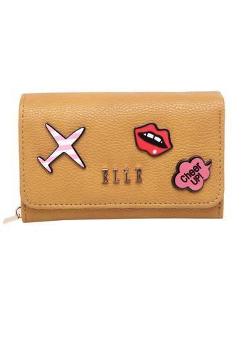 Womens Casual Wear Snap Closure 1 Fold Wallet