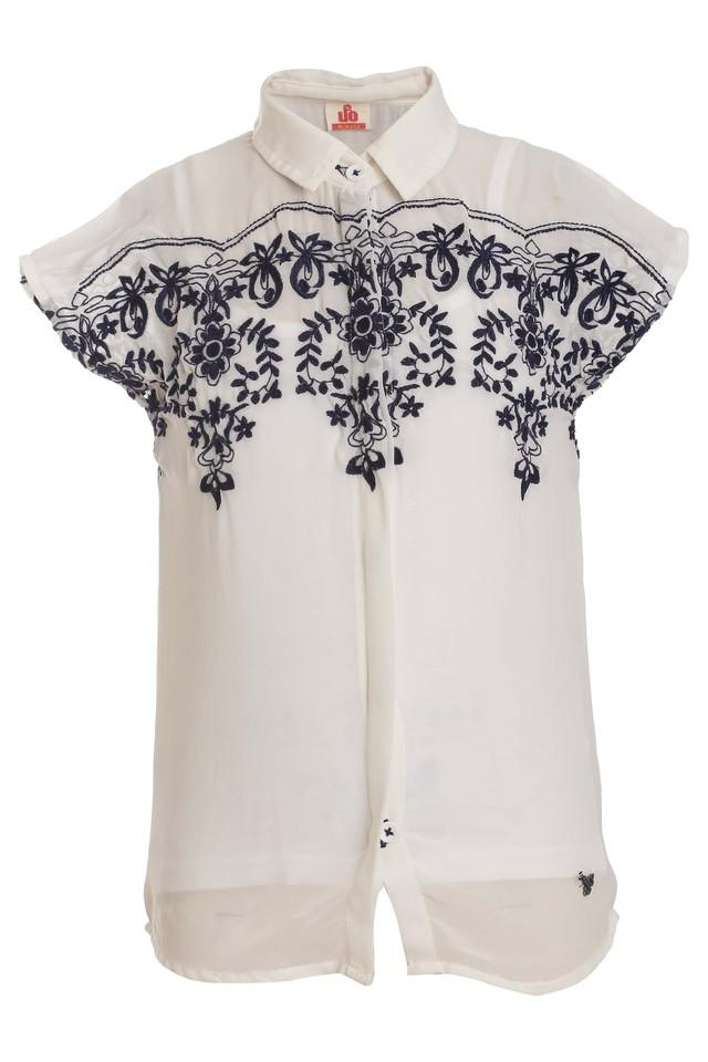 Girls Collared Assorted Top