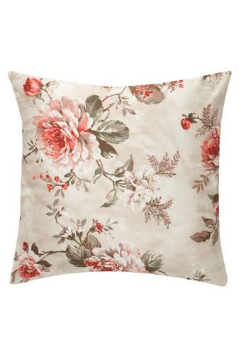 Floral Square Cushion Cover