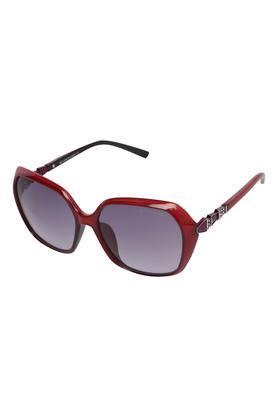 Womens Full Rim Oversized Sunglasses - GA90225C03