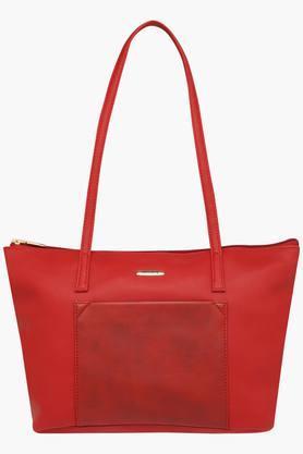 HAUTE CURRYWomens Zipper Closure Tote Handbag - 203524592