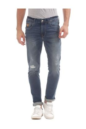 U.S. POLO ASSN. DENIMMens Slim Fit Heavy Wash Jeans - 203652003_8209