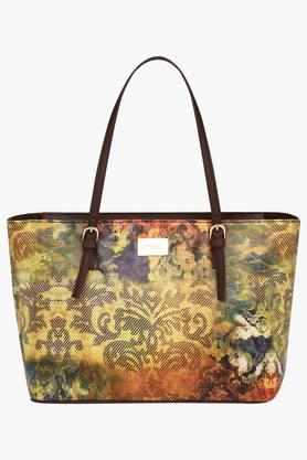 SATYA PAUL Womens Zipper Closure Tote Handbag - 203029084