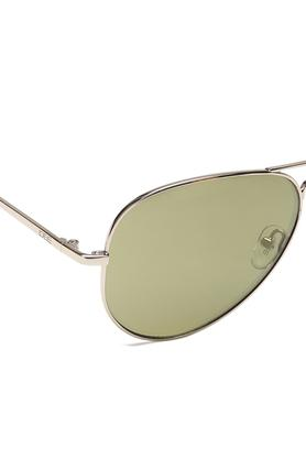 Unisex Aviator UV Protected Sunglasses - NIDS2500C29SG