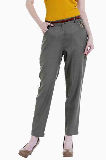 109F -  GreenTrousers & Pants - Main
