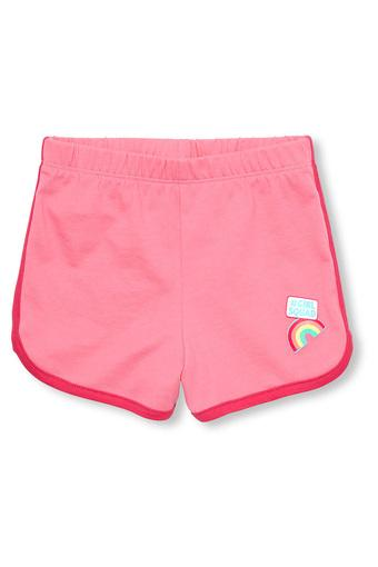 Girls Solid Shorts