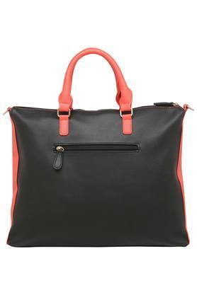 Womens Zip Closure Laptop Handbag