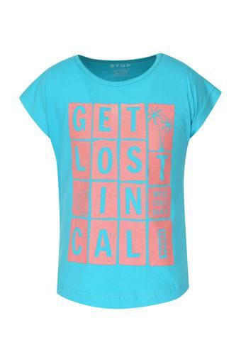 STOP -  Turquoise Topwear - Main