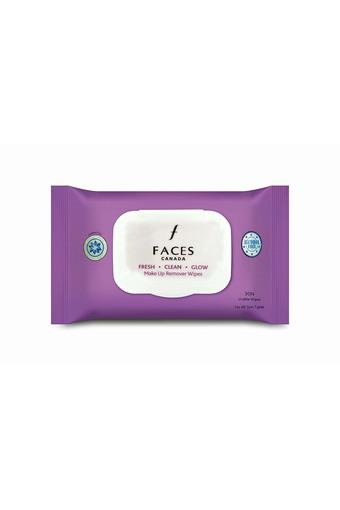 Fresh Clean Glow Makeup Remover Wipes 30Count