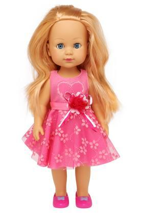 buy life girls doll with pick frock shoppers stop