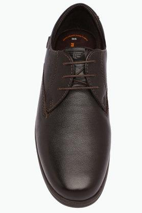 Mens Leather Laceup Shoes