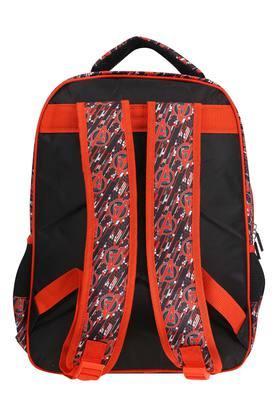 Unisex 3 Compartment Zip Closure Captain America Backpack