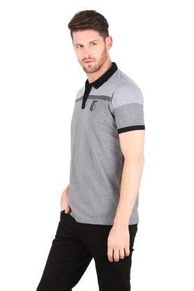 Mens Slub Polo T-Shirt