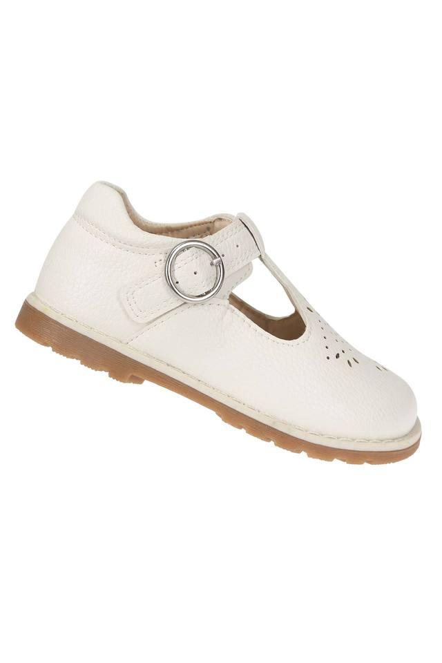 Girls Buckle Closure Ballerinas