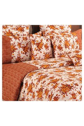 Floral Double Extra Large Bed Sheet with 2 Pillow Covers