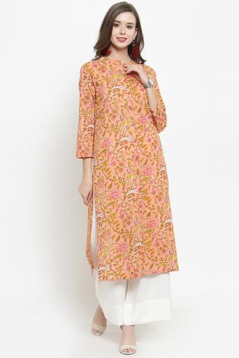 VARANGA -  PeachSalwar & Churidar Suits - Main