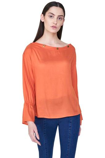 AND -  Orange Tops & Tees - Main