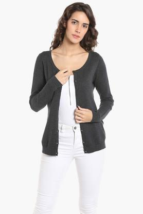 VERO MODA Womens Knitted Casual Cardigan