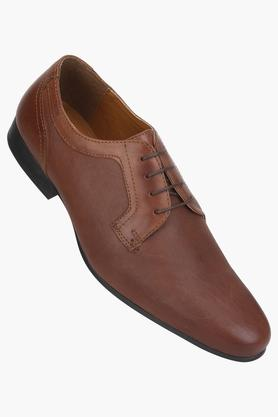 RED TAPE Mens Leather Lace Up Derbys - 203095247_9129