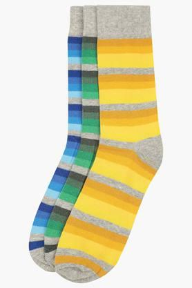 VETTORIO FRATINI Mens Stripe Socks Pack Of 3