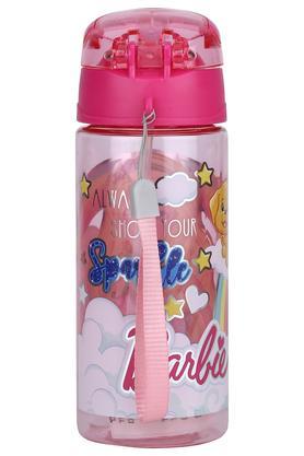 Girls Barbie Printed Water Bottle - 500ml