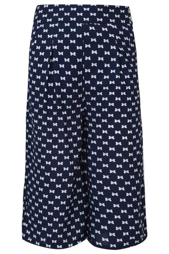 f859cca058 Buy PEPPERMINT Girls Printed Pleated Culottes | Shoppers Stop