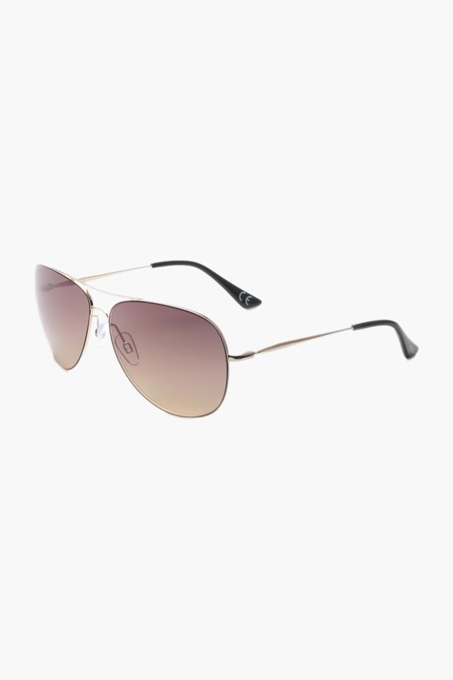 Unisex Aviator Polycarbonate Sunglasses - 3033 C9 S