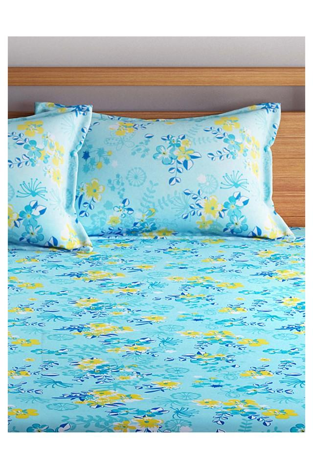 Double Bed Floral Printed Quilt