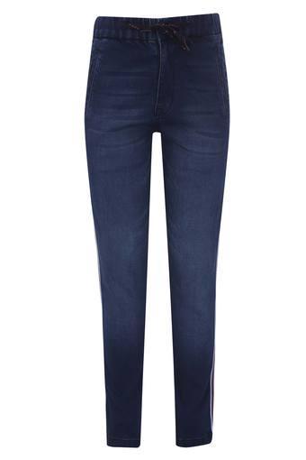 Boys 3 Pocket Whiskered Effect Jeans