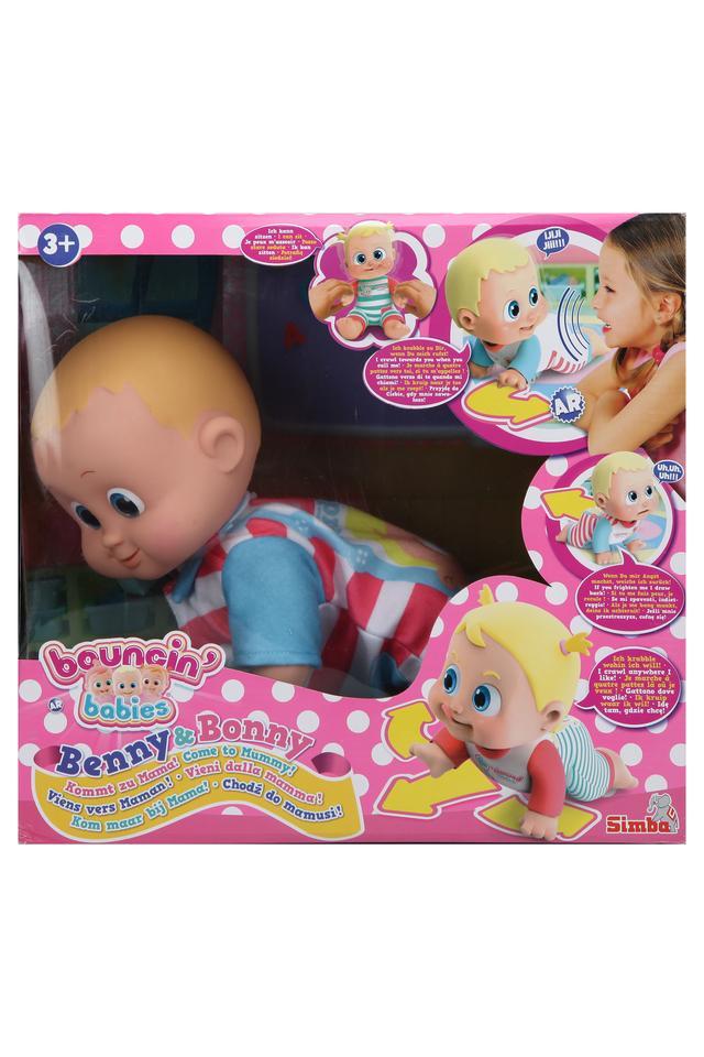Unisex Benny and Bony Come to Mummy Boy Doll