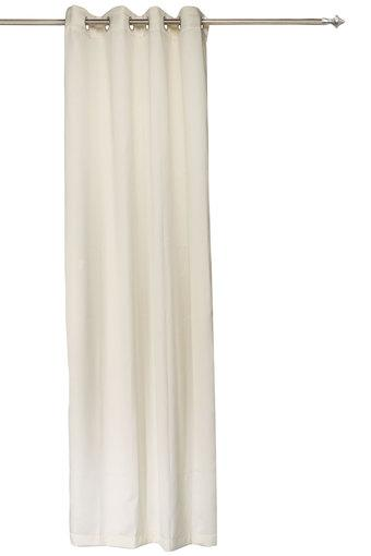 ROSARA HOME -  Cream Door Curtains - Main