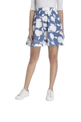 VERO MODA Womens Printed Mini Skirt