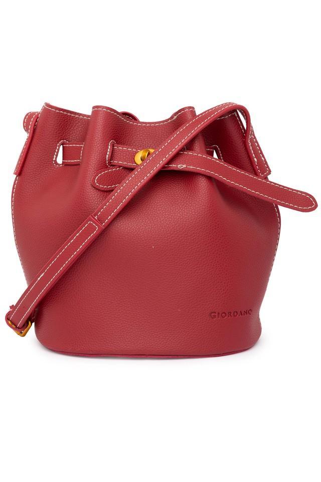 Womens Hook & Loop Closure Sling Bag