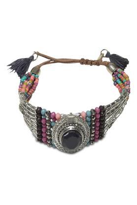 Womens Stone and Beads Bracelet