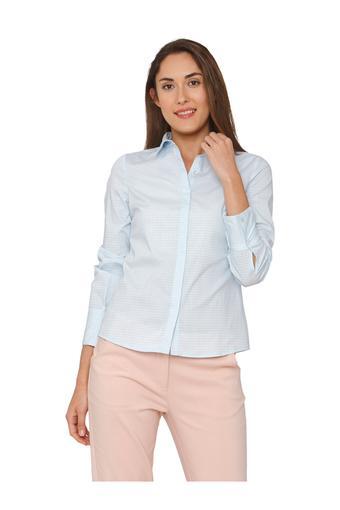 Womens Checked Formal Shirt