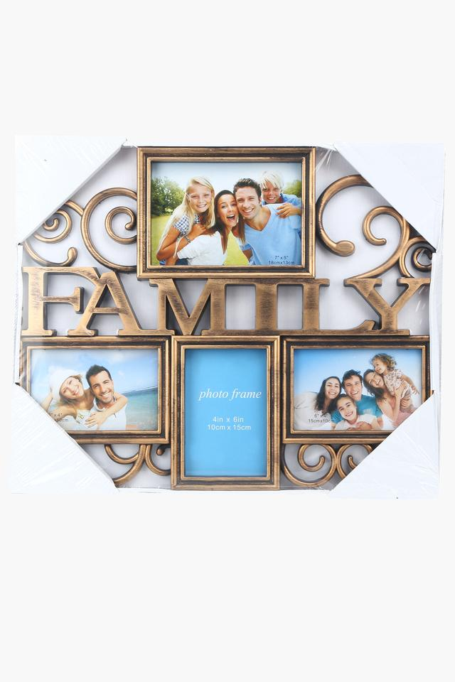 Family Photo Frame With 4 Slots