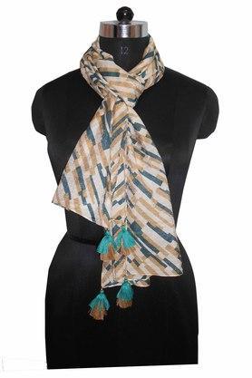 Womens Stripe Scarf