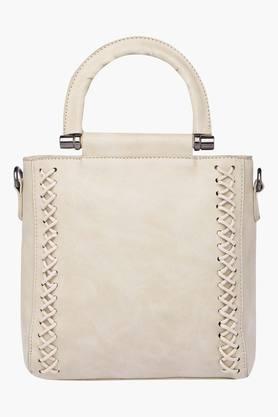 HAUTE CURRYWomens Zipper Closure Tote Handbag - 202722245