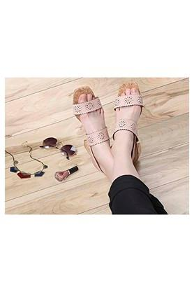 Womens Casual Wear Slip On Heeled Sandals