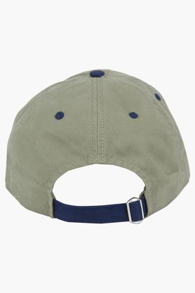 Unisex Solid Applique Cap
