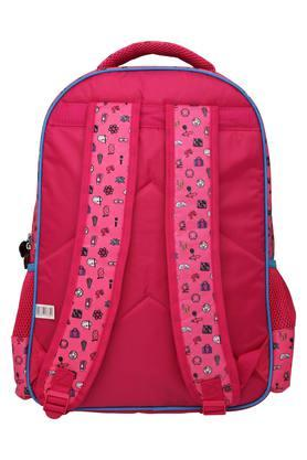 Girls Barbie Pink Flap School Bag